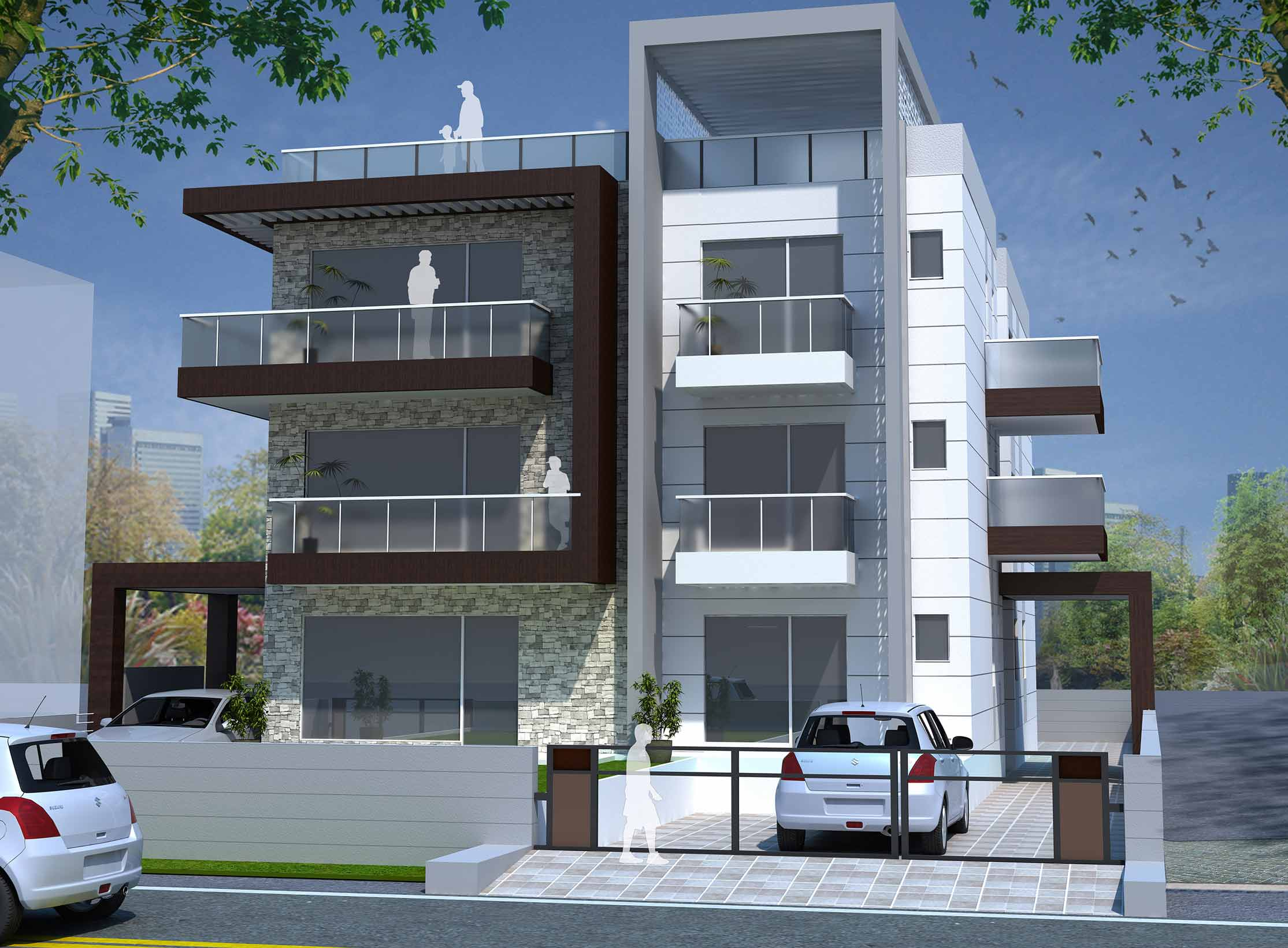 Maas architects delhi architectural firm specialized in for Residential architecture firms