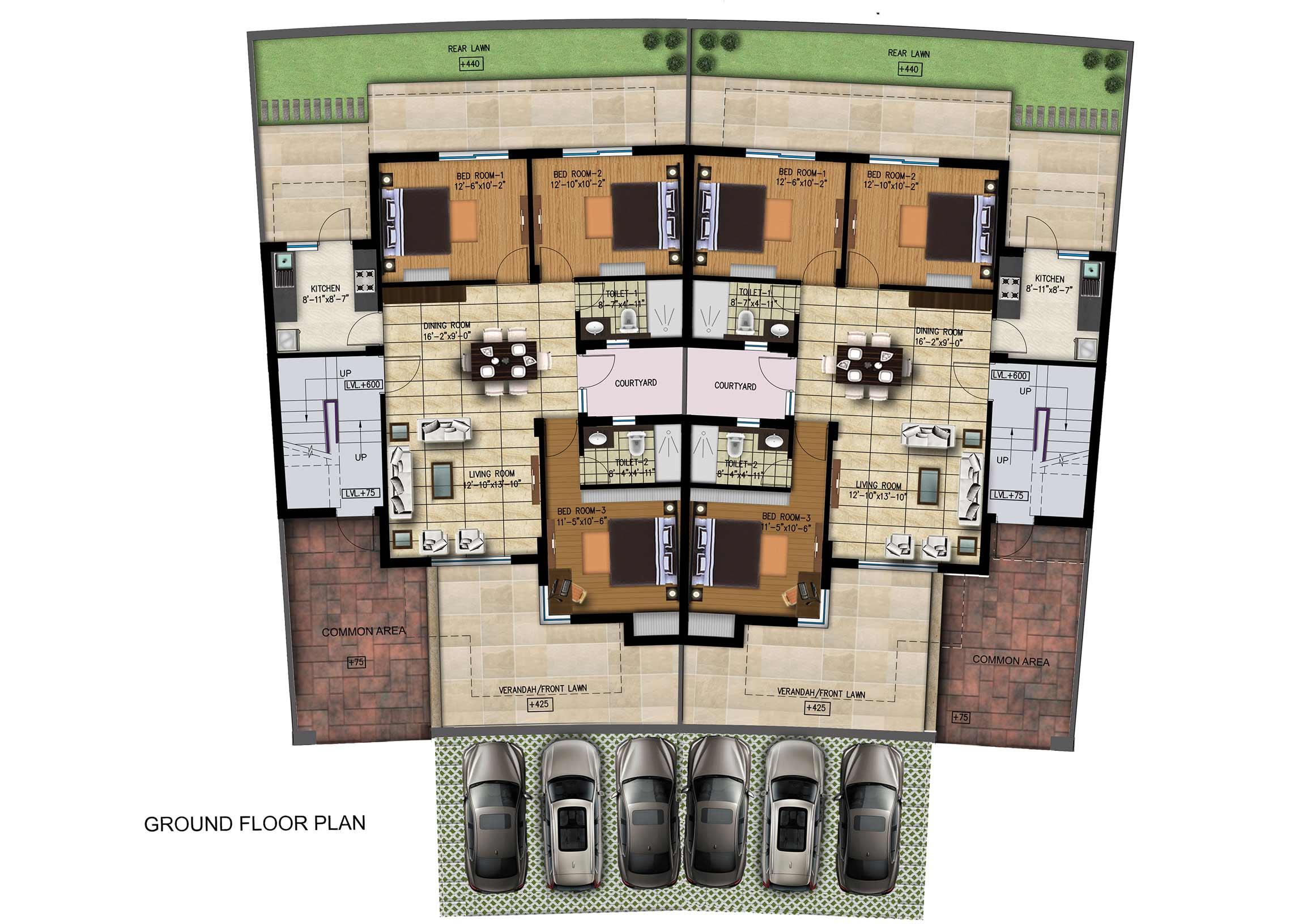 Jindal Reality pranav floors Sonepath 3200sqft