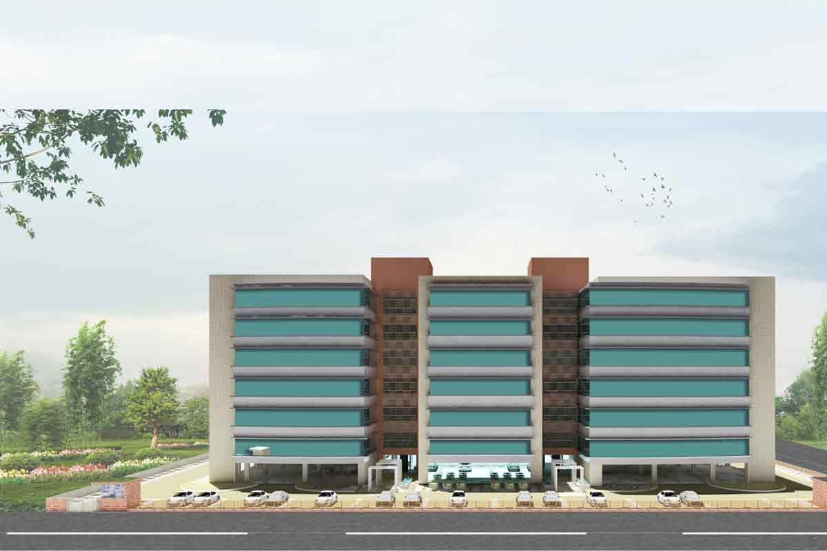Front Elevation In Jaipur : Competition maas architects